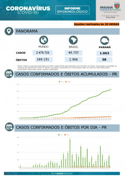 Paraná State epidemiological report